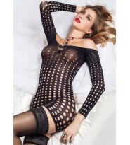 Hannel abito Sexy - Dots sexy dress Trasparenze lingerie