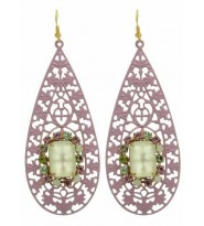 Orecchini in filigrana con strass Trendi  - Earings Made in Italy